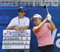 畑岡は46位に後退 米女子ゴルフ第2日