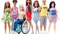 車いすや義肢を使う「バービー人形」は、子どもたちの無限の可能性を示している
