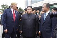 文氏も驚きだった米朝会談、「歴史的出来事」と称賛