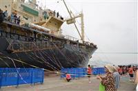 商業捕鯨、31年ぶりに再開 釧路港、下関港から捕鯨船出港