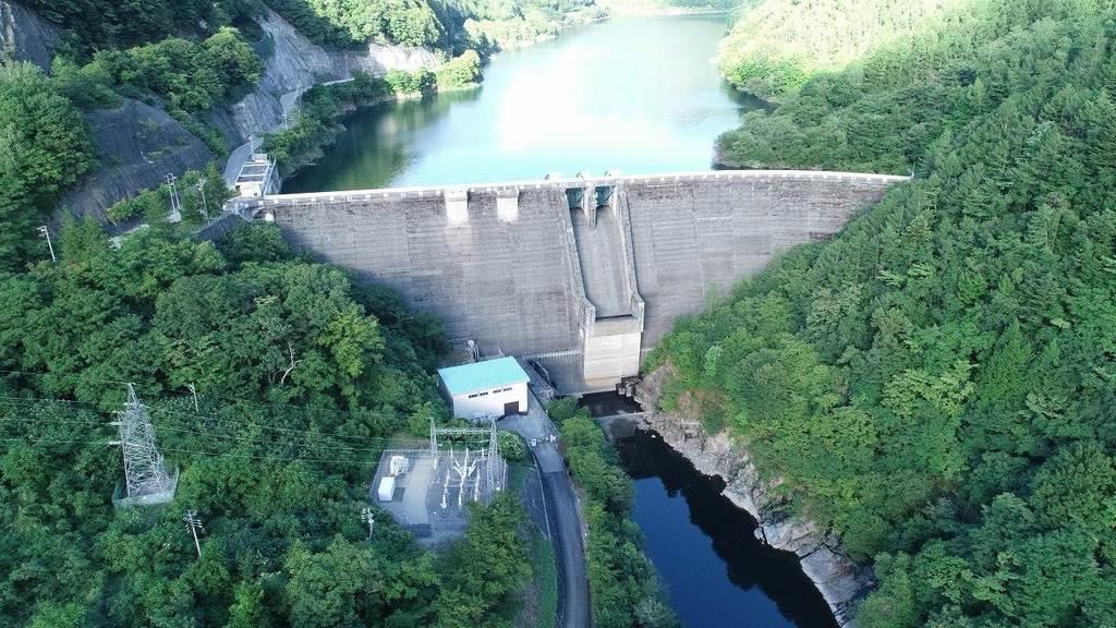 中部電力が保有する岐阜県高山市の「高根第2発電所」。再生可能エネルギー電源として注目されている(中部電力提供)