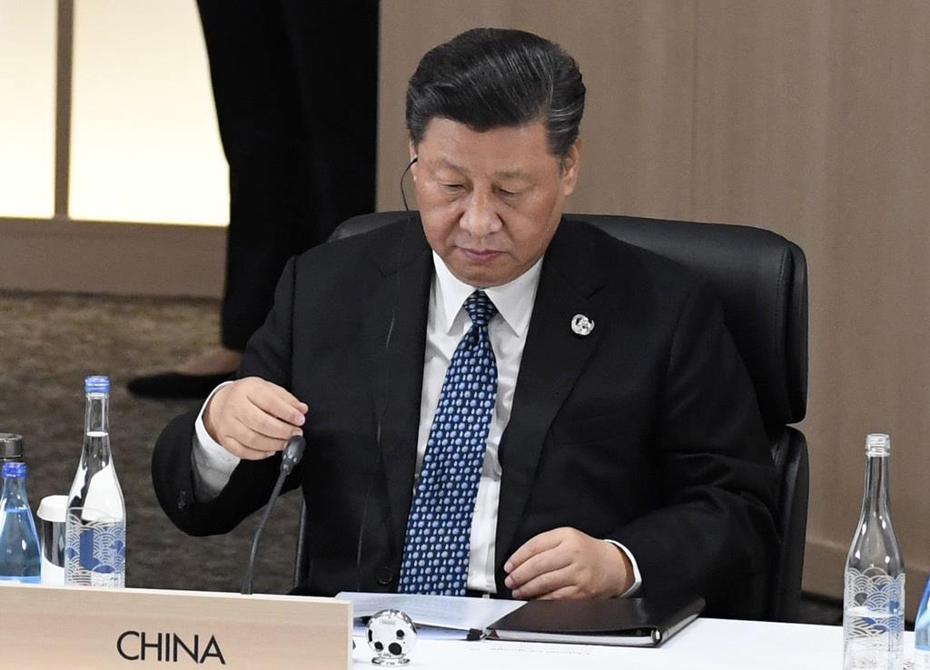 G20サミットのセッション3に臨む中国の習近平国家主席(代表撮影)