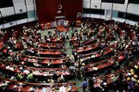台湾・総統府「香港政府は要求に応えるべき」 香港立法会占拠で