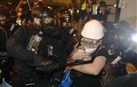 香港デモに中国「法治踏みにじった」 NHK中断も