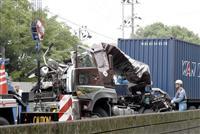 神戸の市道で3台絡む事故、3人死傷