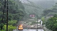 【動画あり】決壊、土砂崩れ、けが人も やまぬ雨、陸自災害派遣 鹿児島
