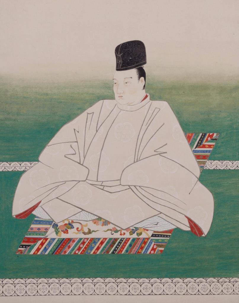 後西天皇像(模本、東大史料編纂所蔵)