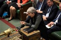 メイ英首相が中国政府に懸念 香港問題で英中対立