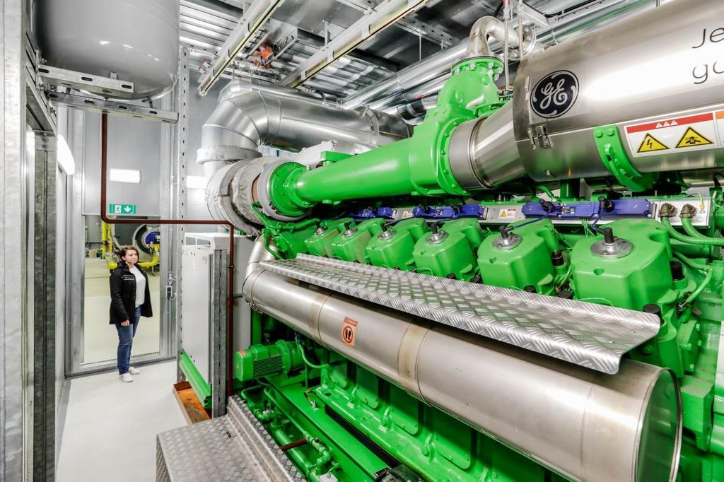 ツッフェンハウゼン工場「コージェネレーションプラント」 ポルシェジャパン提供