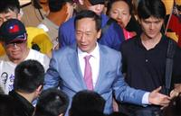 台湾野党・郭氏、潤沢資金で総統予備選猛追 経験不足でほころびも