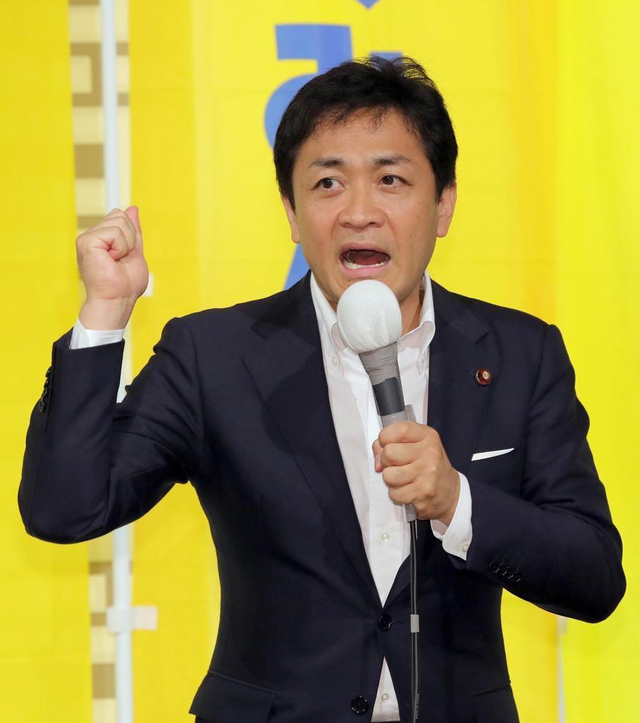国民民主党の玉木雄一郎代表(早坂洋祐撮影)