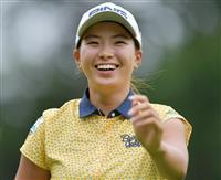 【スポーツ異聞】原との女子ゴルフ黄金世代対決を制した渋野 初の海外メジャーへ