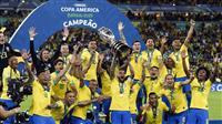ブラジルが9度目の優勝 サッカー南米選手権