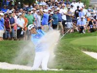 5打差7位の松山「課題が残った」 米男子ゴルフ