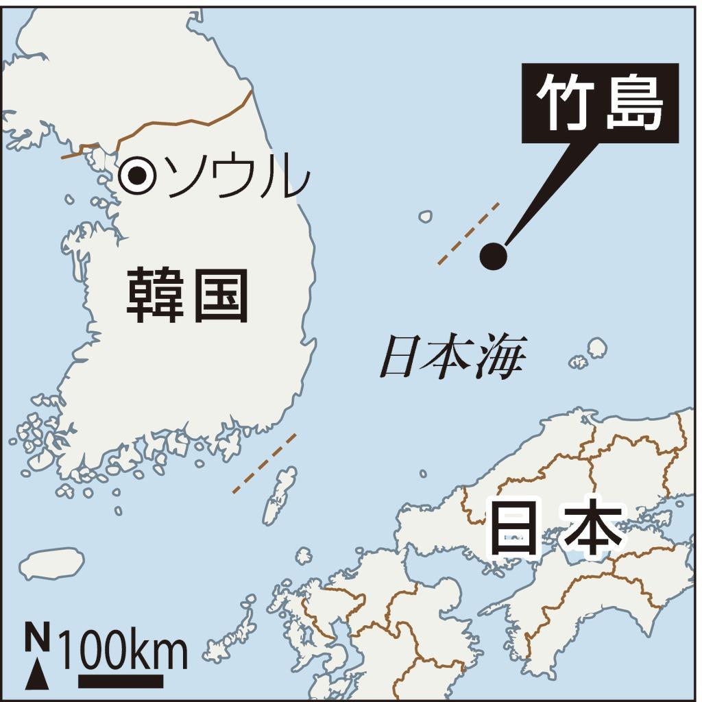 竹島の地図