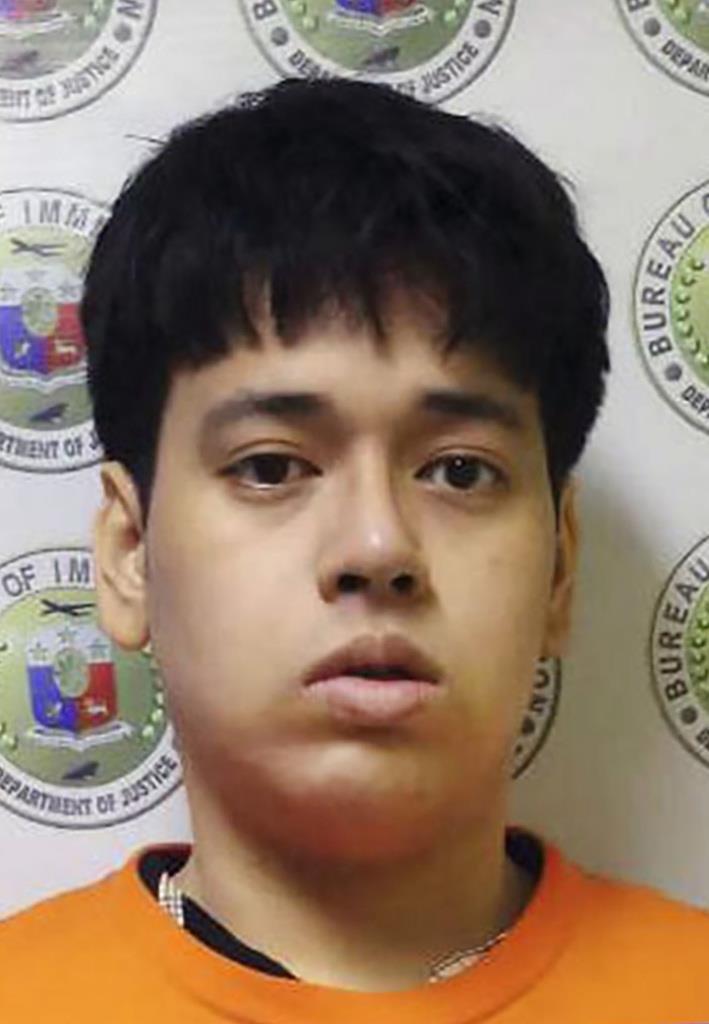 フィリピン入国管理局が拘束した「漫画村」元運営者の星野路実容疑者(同入管提供・共同)