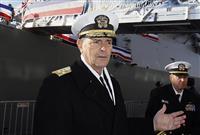 米海軍制服トップへの昇格を辞退  国防総省の人事混乱