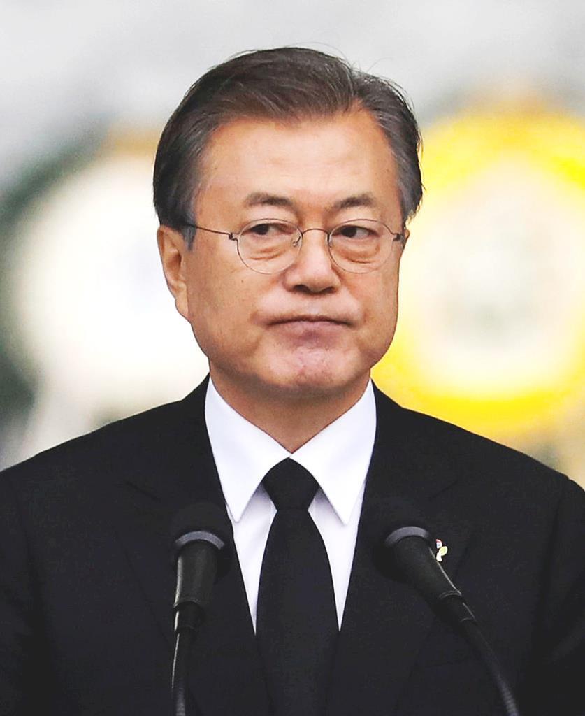 韓国の文在寅大統領(ロイター)