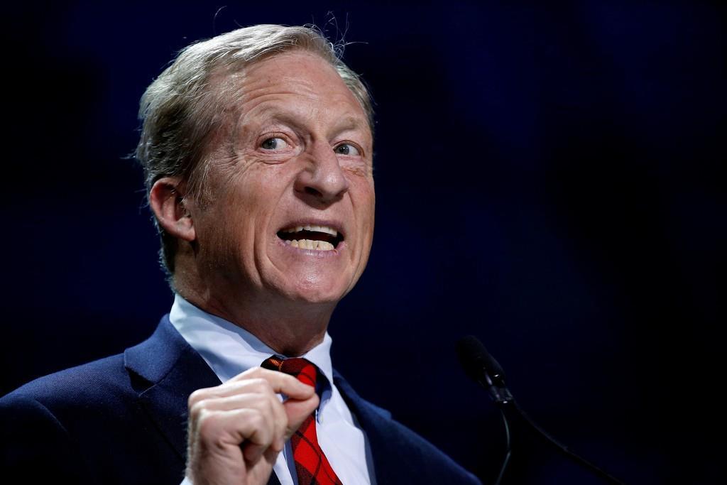 米大統領選の民主党候補者指名争いへの立候補を表明したトム・スタイヤー氏(ロイター)