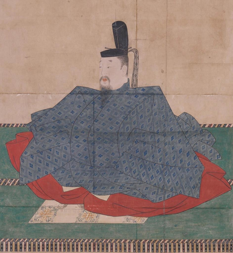後醍醐天皇宸影(模本、東大史料編纂所蔵)