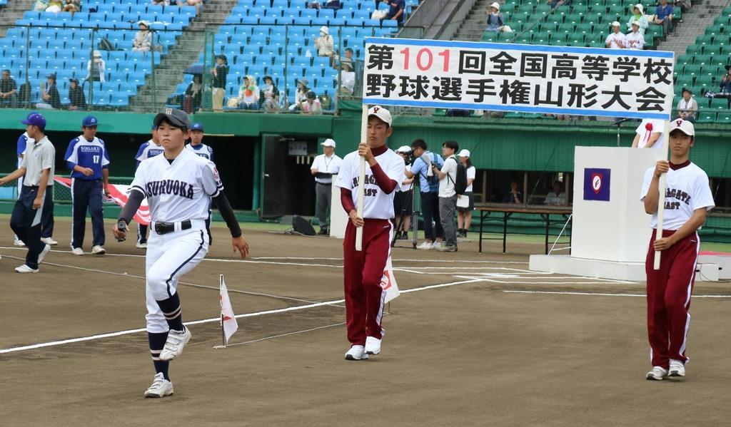 速報 山形 野球 高校
