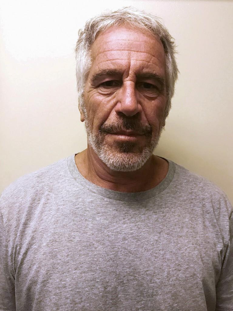 ニューヨーク州の連邦大陪審が起訴したジェフリー・エプスタイン被告(ニューヨーク州犯罪司法局提供・ロイター)
