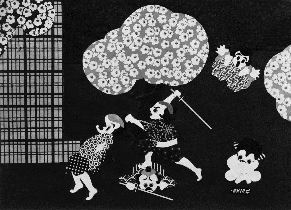映画「心の力」(昭和6年、大藤信郎監督)