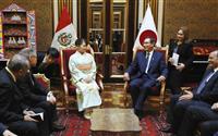 眞子さま、ペルー大統領とご懇談「両国発展願う」