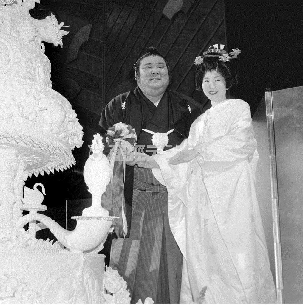 なんと幸せそうな大ちゃんの顔 =昭和61(1986)年、東京都千代田区のホテル・ニューオータニ