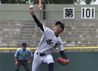【夏の高校野球】宇都宮南、猛打でコールド勝ち 開会式に59チーム元気に行進