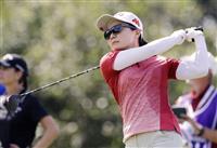 横峯と上原が7打差20位 米女子ゴルフ第2日