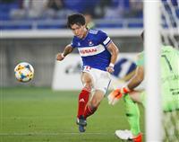 横浜Mの遠藤が今季初ゴール「やっと入りました」