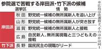 【参院選】1人区現職、崖っぷちの宏池会 平成研は「参院のドン」後継苦闘