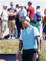 松山、池田らが最終調整 全英オープンゴルフ