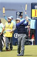 5打差42位の松山「悪くはない」 全英ゴルフ