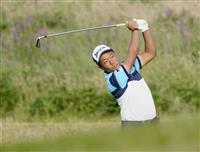 20位発進の稲森「雰囲気が違った」 全英ゴルフ