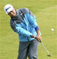 松山「思ったよりやれた」 首位と5打差 全英ゴルフ