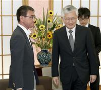 京アニ火災 韓国大使が河野氏に悼む言葉伝える
