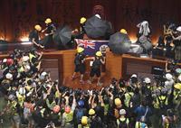 香港デモ参加者、台湾へ逃亡 現地紙報道