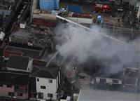 東大阪で建物火災 男性1人死亡