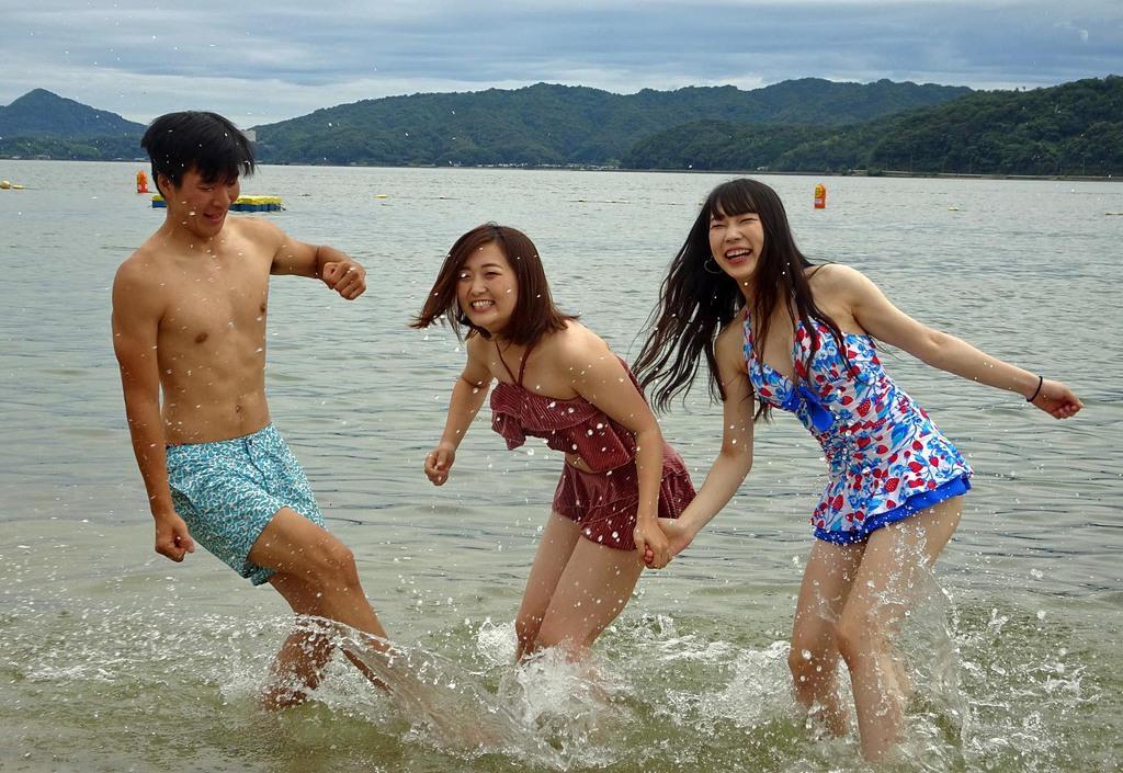 天橋立海水浴場で海開き 京都 - 産経ニュース