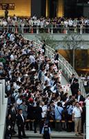 東京でも最後の訴え、有権者どう判断 21日投開票