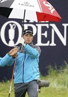 松山2年連続予選落ち 全英ゴルフ