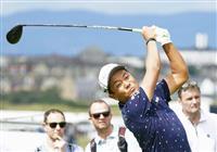 58位で決勝R進出の稲森「神経を使った」 全英ゴルフ