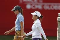 クラントン組が首位 米女子ゴルフ第3日