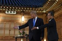 日韓双方とも求めるなら仲介も 韓国大統領が要請 トランプ氏は及び腰