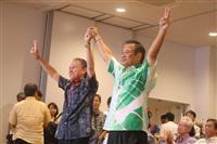 沖縄選挙区で当確の高良氏「辺野古の問題は日本の問題」