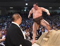 白鵬、優勝逃すも「自分を褒めたい」 大相撲名古屋場所