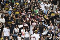 香港で再び大規模デモ 独立調査委設置求め