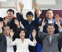 埼玉選挙区は与野党で2議席ずつ分け合う